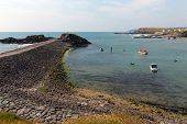 Bude harbour North Cornwall near Tintagel