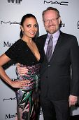 Jared Harris, Allegra Riggio at the Sixth Annual Women In Film Pre-Oscar Coctail Party, Fig & Olive,