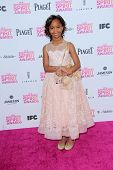Quvenzhane Wallis at the 2013 Film Independent Spirit Awards, Private Location, Santa Monica, CA 02-