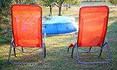 Pool Chairs.