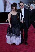 Helena Bonham Carter, Tim Burton at the 85th Annual Academy Awards Arrivals, Dolby Theater, Hollywood, CA 02-24-13