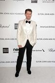 Matthew Morrison at the Elton John Aids Foundation 21st Academy Awards Viewing Party, West Hollywood