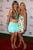 LOS ANGELES - JULY 11: Rena Riffel and Lorielle New at