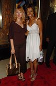 HOLLYWOOD - AUGUST 15: Andrea Evans and Chrystee Pharris at the Los Angeles Premiere of