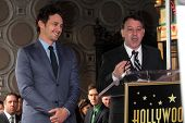 James Franco, Sam Raimi at the James Franco Star on the Walk of Fame Ceremony, Hollywood, CA 03-07-13