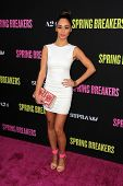 Cara Santana at the Los Angeles Premiere of