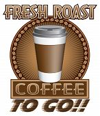 Coffee Fresh Roast To Go