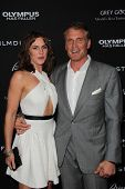 Dolph Lundgren and Jenny Sandersson at the