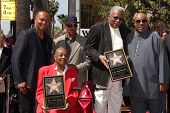 Ray Parker Jr., Paul Riser, Eddie Willis, Jack Ashford, Stevie Wonder at The Funk Brothers Star on t