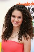 Madison Pettis at the 2012 Nickelodeon Kids' Choice Awards, Galen Center,  Los Angeles, CA 03-31-12