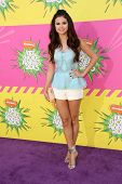 Selena Gomez at Nickelodeon's 26th Annual Kids' Choice Awards, USC Galen Center, Los Angeles, CA 03-