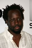 HOLLYWOOD - AUGUST 02: Wyclef Jean at Saturn's X-Games 12 Party at 6820 Hollywood Blvd on August 02,