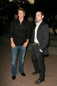 HOLLYWOOD - AUGUST 25: Thad Luckinbill and John Hensley at the