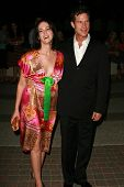 HOLLYWOOD - AUGUST 25: Joanna Going and Dylan Walsh at the