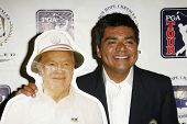 BURBANK - AUGUST 22: George Lopez at the press conference announcing George Lopez as the spokesperson for the 2007 Bob Hope Chrysler Classic at Warner Bros. Studios on August 22, 2006 in Burbank, CA.