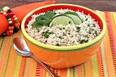 Basmati Rice With Cilantro And Lime