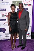 Viola Davis, Julius Tennon at the 2013 Silver Rose Gala, Vibiana, Los Angeles, CA 04-06-13