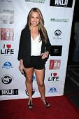 Jessica Hall at the No Kill L.A. Charity Event, Fred Segal, West Hollywood, CA 04-02-13