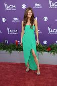 Michelle Stafford at the 48th Annual Academy Of Country Music Awards Arrivals, MGM Grand Garden Arena, Las Vegas, NV 04-07-13