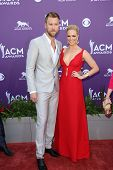 Charles Kelley and Cassie McConnell at the 48th Annual Academy Of Country Music Awards Arrivals, MGM Grand Garden Arena, Las Vegas, NV 04-07-13