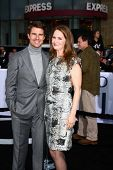 Tom Cruise, Melissa Leo at the