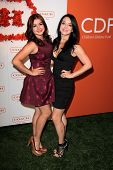 Ariel Winter and sister Shanelle Workman at Coach's 3rd Annual Evening of Cocktails and Shopping benefiting  the Children's Defense Fund, Bad Robot, Santa Monica, CA 04-10-13