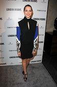 Teresa Palmer at the British Fashion Council's