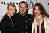 HOLLYWOOD - APRIL 06: Jody Britt, Chef J and Kathleen York at Flaunt Magazine Presents Nefarious Fin