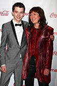 Asa Butterfield and guest at the CinemaCon Big Screen Achievement Awards , Caesars Palace, Las Vegas