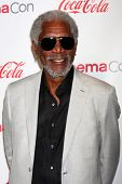 Morgan Freeman at the CinemaCon Big Screen Achievement Awards , Caesars Palace, Las Vegas, NV 04-18-13