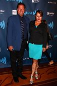 Crystal Chappell and guest at the 24th Annual GLAAD Media Awards, JW Marriott, Los Angeles, CA 04-20