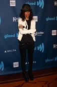 Linda Perry at the 24th Annual GLAAD Media Awards, JW Marriott, Los Angeles, CA 04-20-13