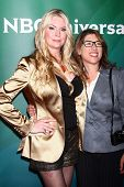 Jackie Siegel, Lauren Greenfield at the 2013 NBC Universal Summer Press Day , Langham Huntington Hot