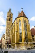 St. Jakobs-church At Rothenburg Ob Der Tauber