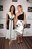 Angie Harmon, Amber Valletta at An Unforgettable Evening Presented by Saks Fifth Avenue, Beverly Wilshire Hotel, Beverly Hills, CA 05-02-13