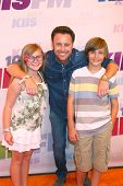 Chris Harrison and kids at the 2013 Wango Tango concert produced by KIIS-FM, Home Depot Center, Carson, CA 05-11-13
