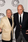 Mel Brooks and Carl Reiner at the