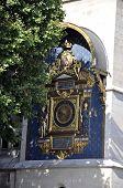 Public Clock on Conciergerie Tower in PARIS