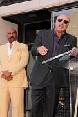 Steve Harvey, Phil McGraw at the Steve Harvey Star on the Hollywood Walk of Fame, Hollyood, CA 05-13-13