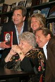 Dorothy Bridges, Beau Bridges, Lucinda Bridges and Jeff Bridges at the Dorothy Bridges Appearance & Book Signing for her new book, at Barnes & Noble at Farmer's Market, Los Angeles, CA. 01-27-05