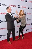 Joshua Malina, Darby Stanchfield at the