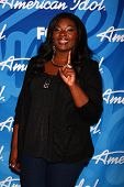 Candice Glover at the American Idol Season 12 Finale Press Room, Nokia Theater, Los Angeles, CA 05-1