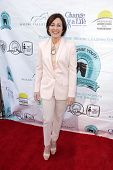 Patricia Heaton at the Compton Jr, Posse Gala honoring Patricia Heaton and Portia de Rossi, Burbank