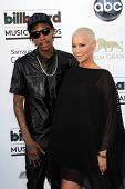 Wiz Khalifa, Amber Rose at the 2013 Billboard Music Awards Arrivals, MGM Grand, Las Vegas, NV 05-19-