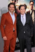 Bradley Cooper and Ed Helms at