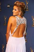 HOLLYWOOD - APRIL 28: Farah Fath in the press room at The 33rd Annual Daytime Emmy Awards at Kodak T