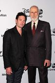 Henry Thomas and James Cromwell at the Disney Media Networks International Upfronts, Walt Disney Stu
