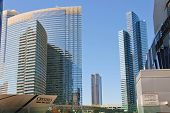 Ultramodern Buildings Hotels In City Center Las Vegas