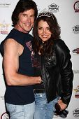 Ronn Moss and Devin DeVasquez at the Player Concert celebrating Devin DeVasquez 50th Birthday to ben