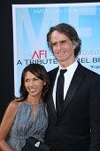 Jay Roach and Susanna Hoffs at the AFI Life Achievement Award
